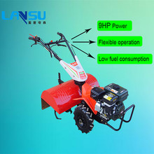 china supplier 9HP farm tool mini tiller cultivator