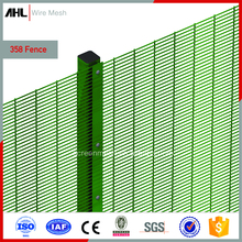 1/4 Inch Black Weldmesh Security 2X4 Welded Metal Fencing Anti-Climb 358 PVC Coated Galvanized Wire Mesh Fence Panels
