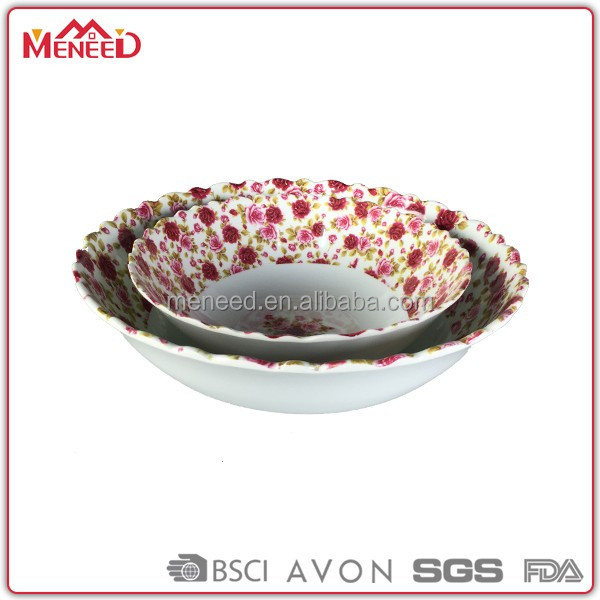 food packaging containers ceramic like plastic salad bowl