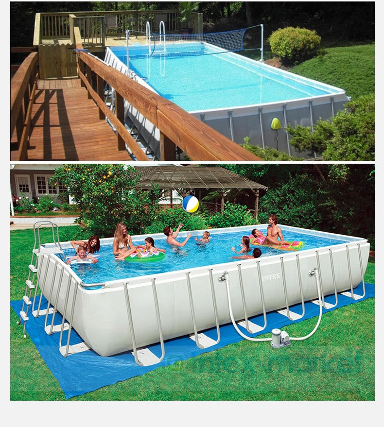 INTEX Ultra Metal Frame Above Ground Swimming Pools