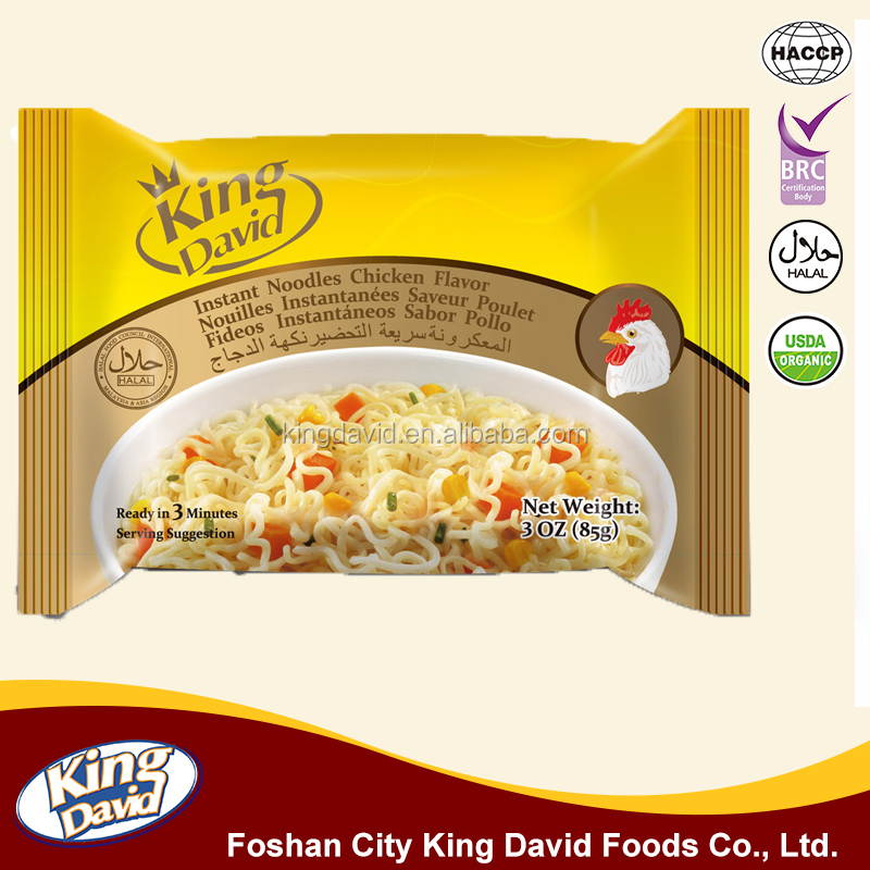 INSTANT BAG NOODLES FROM FOSHAN KING DAVID FOOD FACTORY