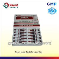 Chinese Top Veterinary Medicine Company of Macleayae Cordata Injection