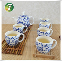 7 pcs toy porcelain tea set
