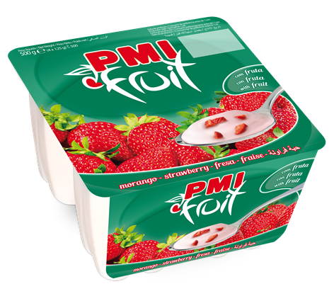 LONG LIFE YOGURT WITH STRAWBERRY