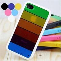 2013 Latest Hard Back Rainbow Cases for IPhone 5S/5C, for IPhone 5S/5C Covers