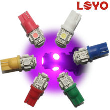 Hot sale!!! 5led 5050smd w5w / 194 / T10 led lights car, Auto led, led Car led