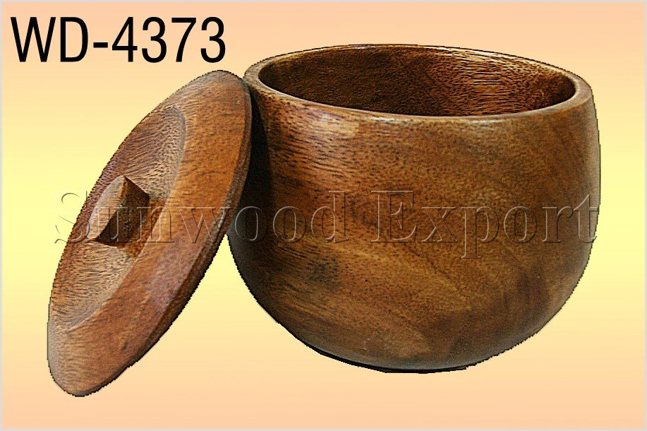 Wooden Cuddy Bowl