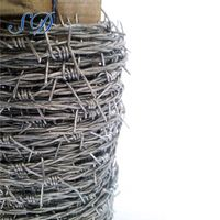 Electro Galvanized Barbed Wire For Safeduard