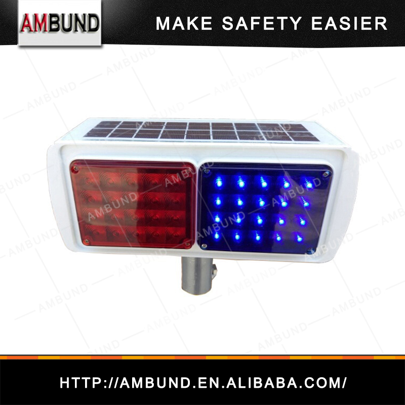 solar strobe light/solar warning light/traffic strobe light