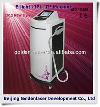 2013 Cheapest Price Beauty Equipment E-light+IPL+RF machine colon hydrotherapy equipment