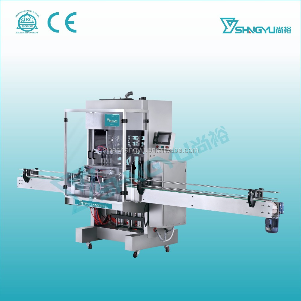 Whole set automatic production machine liquid detergent filling line/liquid paste filling machine