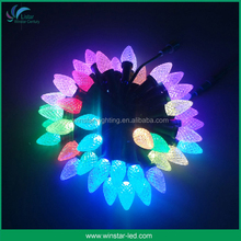 Christmas Holiday Lamp C9 Led Ball Light SMD5050 UCS1903 RGB Led Pixel String Light Outdoor