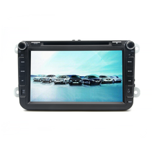 8 inch touch screen Double DIN Car DVD Player with Radio AM/FM Bluetooth Audio/Video Player for VW