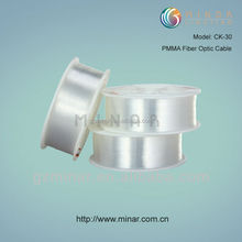 0.75mm pmma single Plastic Optical Fiber lighting cable