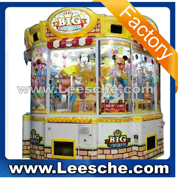 LSJQ-333 big candy house crane claw machine for sale claw crane vending machines for sale vending machine RB1227