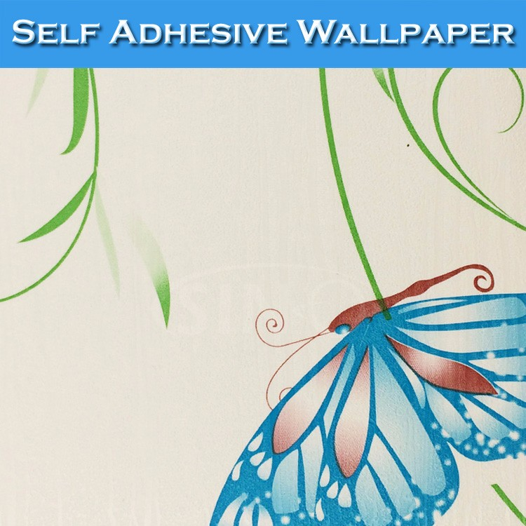 9011 SINO Pretty Butterfly Picture Designs Decorative Wall 3D Wallpaper