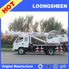 New Hydraulic 6 8 10 12 ton Small Truck Mounted Crane for Sale,360 Degrees Rotation 7 ton Truck Cranes