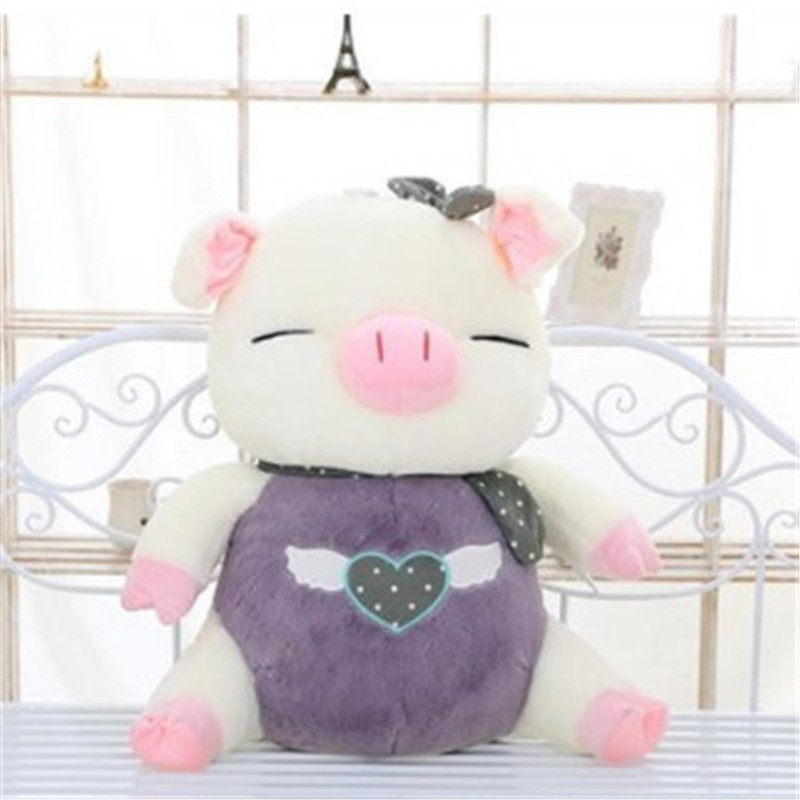girl friend gift two colors small cute pig plush toys