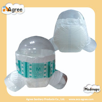 disposable wholesale cute absorbent adult diaper in bulk