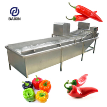Industrial Fruit and Vegetable Washing Drying Machine