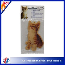 car air freshener paper hanging High quality air freshener paper aromatic air freshener