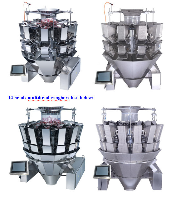 10 heads computerized combination weigher JY-10HDT