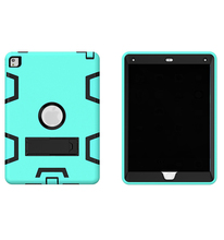 Robot Back Case For ipad mini 1 2 3 Case Retina Accessories Stand Cover