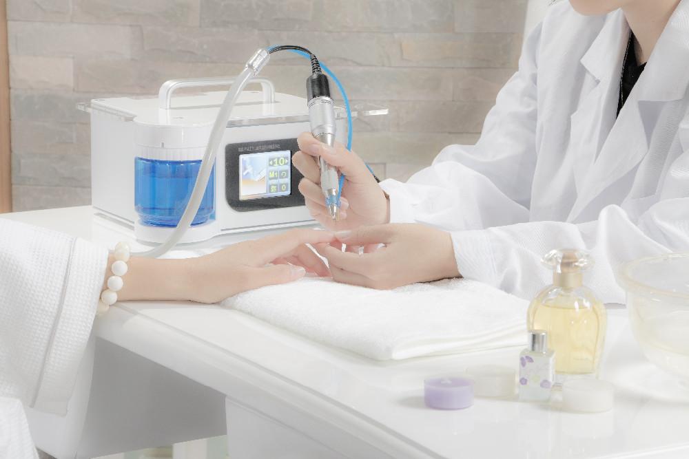 Gros Professionnel salon de beauté électrique manucure machine 15 W vernis à ongles avec écran tactile