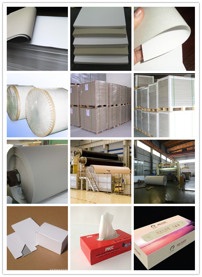 2016JITONG coated white duplex board manufacturer in indonesia grey back mills/paper mill in China