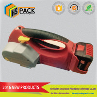 PET STRAP APPLICATION Portable Battery Powered Strapping Tool HS- H-45L
