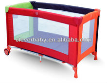 Cleverbaby baby playpen bed for outdoor travel