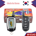 Starting by remote control car security Dialog code FM car alarm magicar 103AS