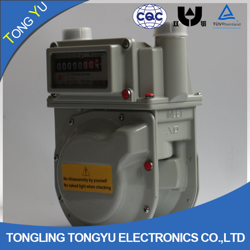 commercial gas meter g1.6 / g2.5 / g4 / g6 natural commercial gas meter