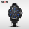 2015 WEIDE Silicone Watches WH5202 Japan MOV'T Quartz Watch Stainless Steel Trendy Fashion Dress Alibaba Express Watches Men