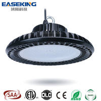 factory warehouse canopy ceiling industrial 150w linear UFO led high bay light 160w