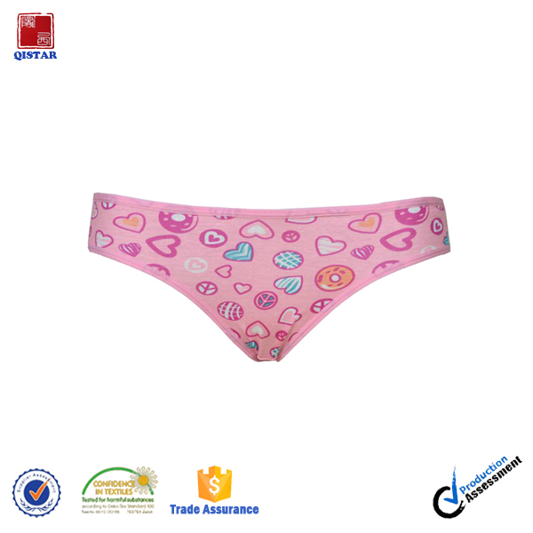 Cheap Price Lovely Girls Underwear Panties/Cheap Young Girls Panties