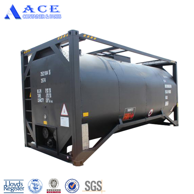 ASME Standard 20ft T3 Portable Insulated Bitumen Tank Container