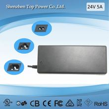 CE Rohs FCC SAA approved 120W ac/dc power adapter 100-240v 50-60hz 12V 10A switch mode power supp