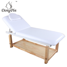 stretchers wooden massage bed with cabinet
