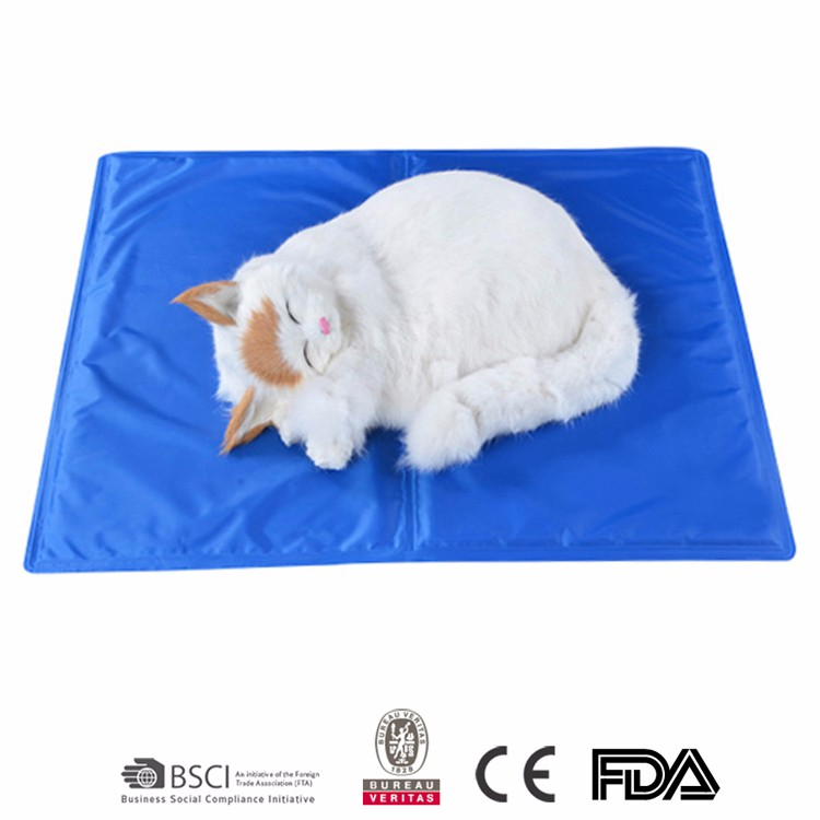 Factory sale Eco-Friendly gel pet cooling mat for cat or <strong>dog</strong>