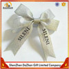 Wholesale Custom Printed Bottle Decoration Gold And Silver Foil Ribbon Bow