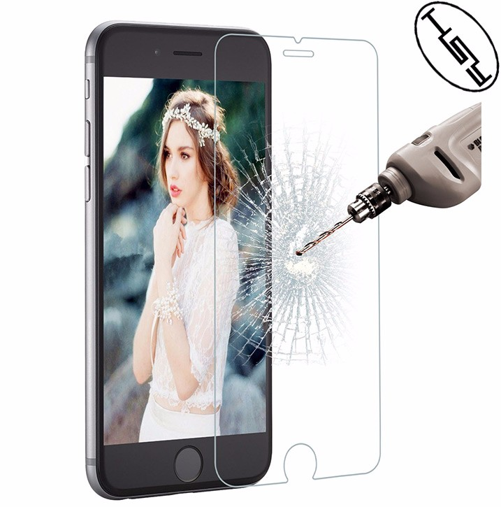 Mobile phone screen protector 0.33mm Tempered Glass for iphone 7 ,screen gurads for iphone 7