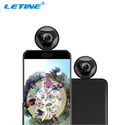 2017 Trending Products OEM small round wireless cctv cellphone HD 720P Porn Video Sport 360 Panoramic Camera