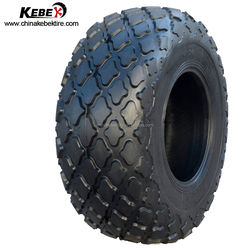 Tube and tubeless bias OTR tyre rubber tire road roller for sale 23.1-26