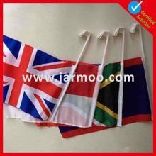Decorative college flags checkered flag customized car flags