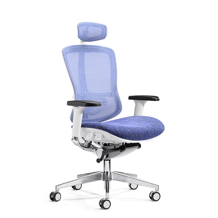 Factory price high quality blue ergonomic executive office chair