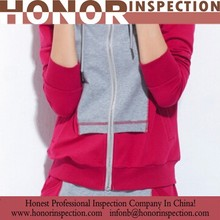 sports wear inspector offer/sports clothing quality control/sports set inspect