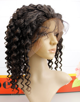 No tangle no shedding deep curly hair 10-32inch cur afro wig for black woman