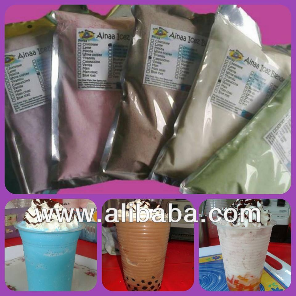Ice blended powder