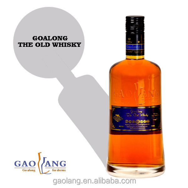Goalong international brand high quality royal whisky, whisky bottle box